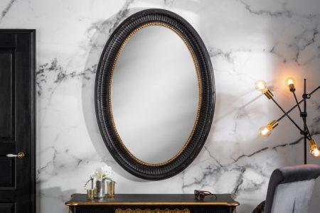 Nástenné zrkadlo Venice 135cm čiernozlatá