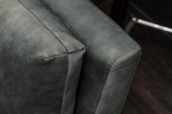 Sofa Marvelous 220cm dunkelzelená zamat