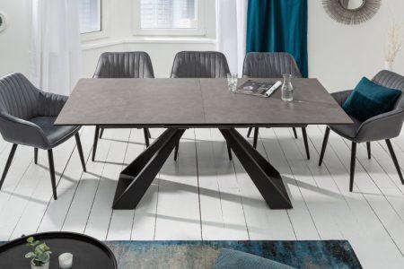 Jedálenský stôl Concord 180-230cm keramika Antracit