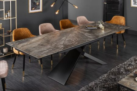 Jedálenský stôl Euphoria 180-220-260cm keramika mramor-Optik