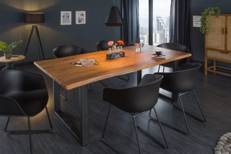 Jedálenský stôl Mammut 180 cm agát 35 mm