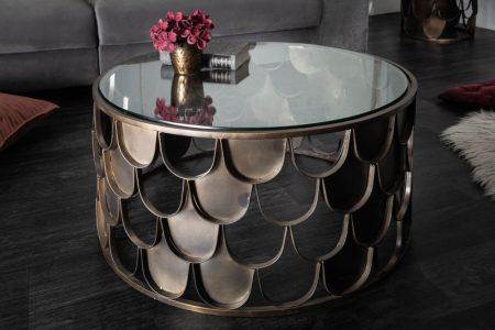 Konferenčný stolík Abstract Fischschuppen Design 70cm