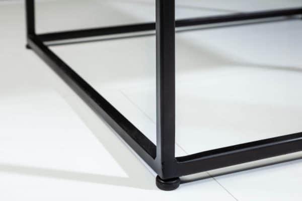 Konferenčný stolík Elements 50cm mramor biela