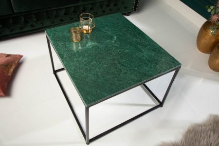 Konferenčný stolík Elements 50cm mramor zelená