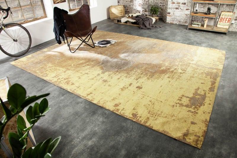 Teppich Modern Art 350x240 cm rosthnedá