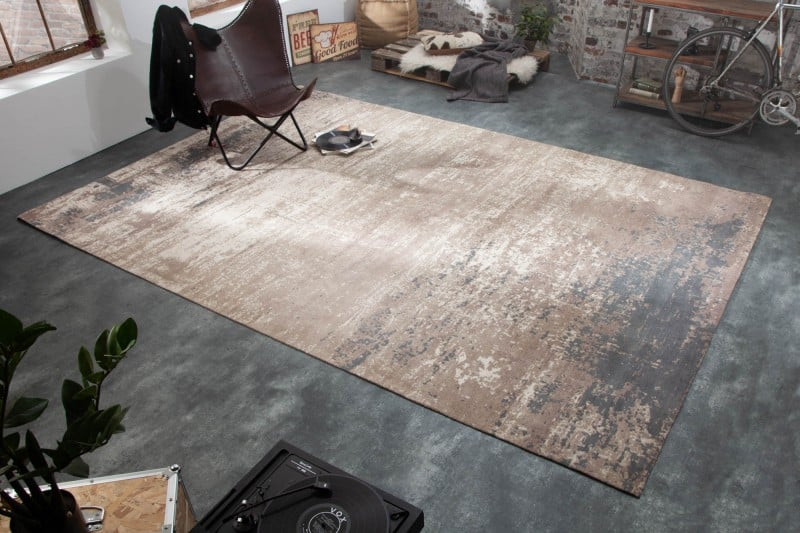 Teppich Modern Art 350x240cm sivá béžová