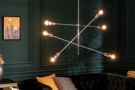 Závesná lampa Variation strieborná