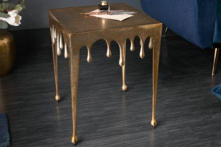 Konferenčný stolík Liquid Line S 44 cm zlatý