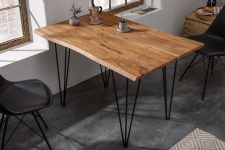Jedálenský stôl Mammut 120 cm agát 26 mm