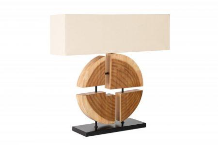 Stolová lampa Organic Artwork 80cm béžová