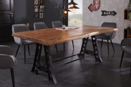 Jedálenský stôl Mammut Industrial 220 cm agát 50 mm