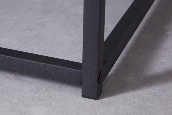 Konferenčný stolík Dura Steel 100cm kov čierna
