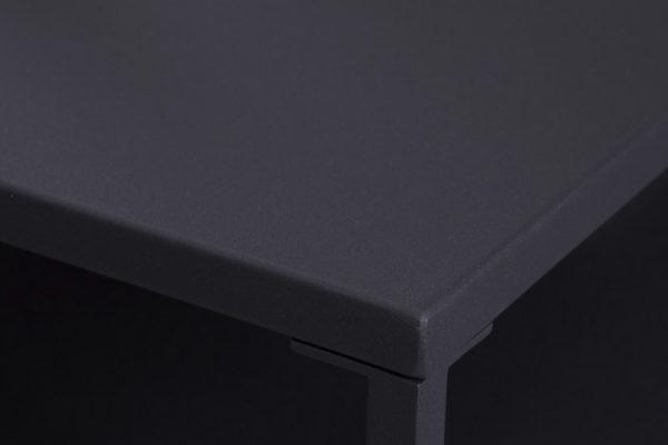 Konferenčný stolík Dura Steel 70cm čierna kov