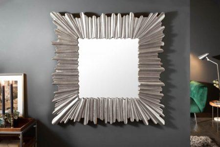 Nástenné zrkadlo Venice 95cm strieborná