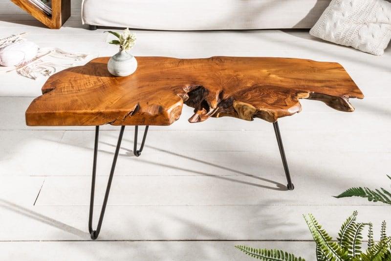 Drevený konferenčný stolík Wild