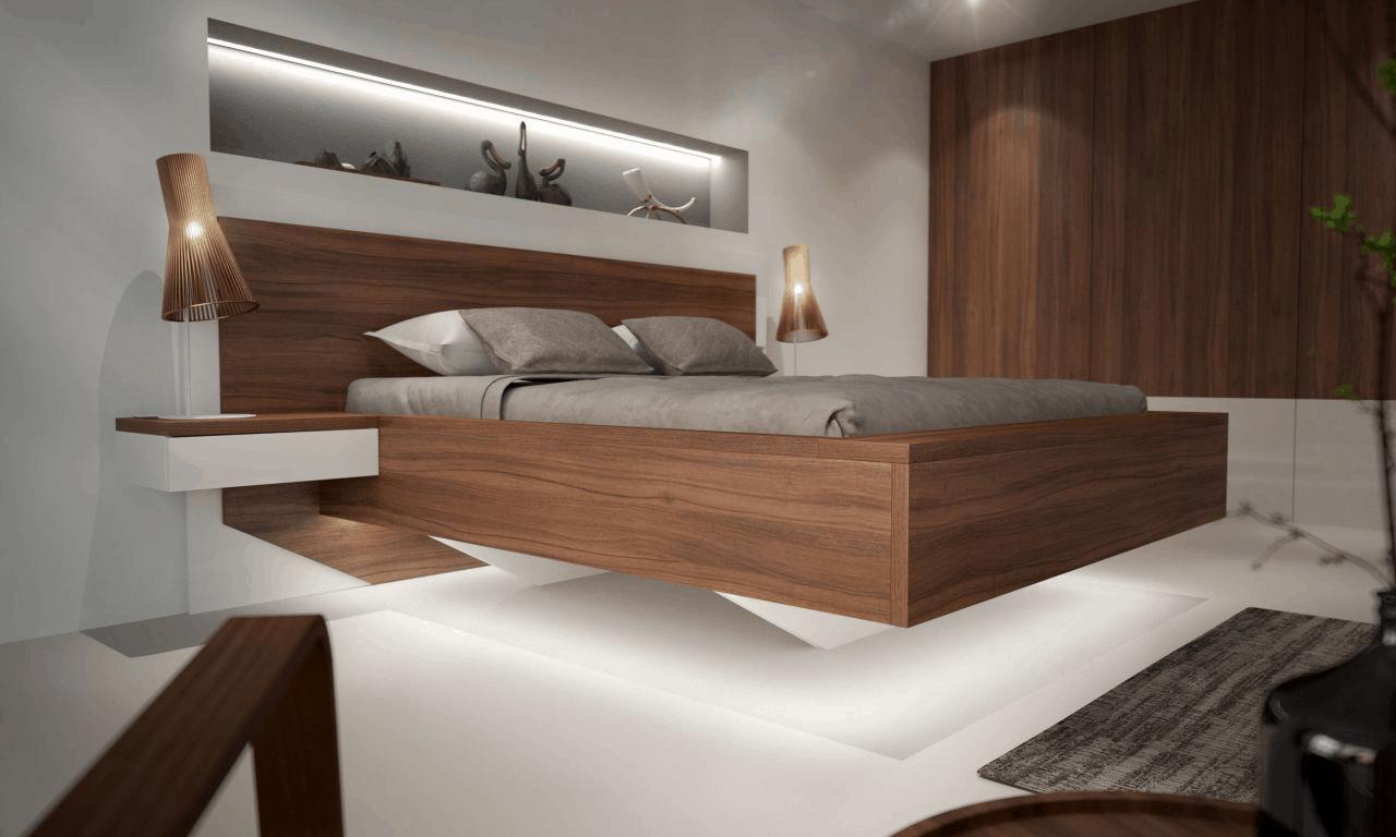 Kvalitný drevený nábytok, ako napr. masívna posteľ nie je záležitosť pár eur a treba sa vedieť o to starať. Zdroj: iKuchyne.sk