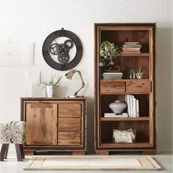 Sheeshamové drevo pôsobí elegantne a nóbl. Zdroj: Pinterest.com