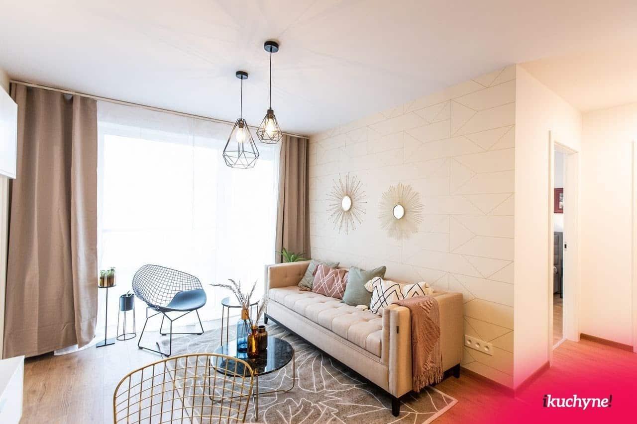 Moderná obývačka, ktorá si nájde miesto aj u vás doma. Zdroj: iKuchyne.sk