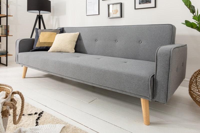 Táto dizajnová rozkladacia pohovka prinesie do vášho domova štýl a nádych elegancie. Zdroj: iKuchyne.sk