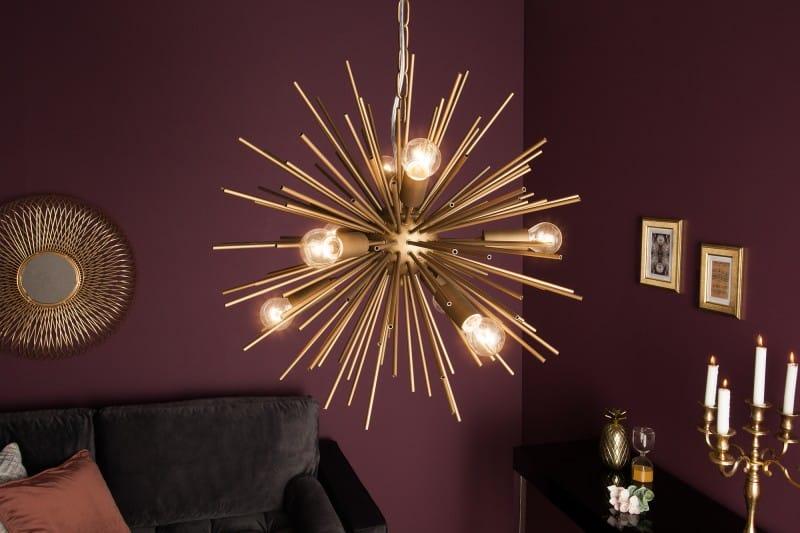 Vďaka modernému dizajnu lampy bude miestnosť vyzerať štýlovo a zaujme už na prvý pohľad. Zdroj: iKuchyne.sk
