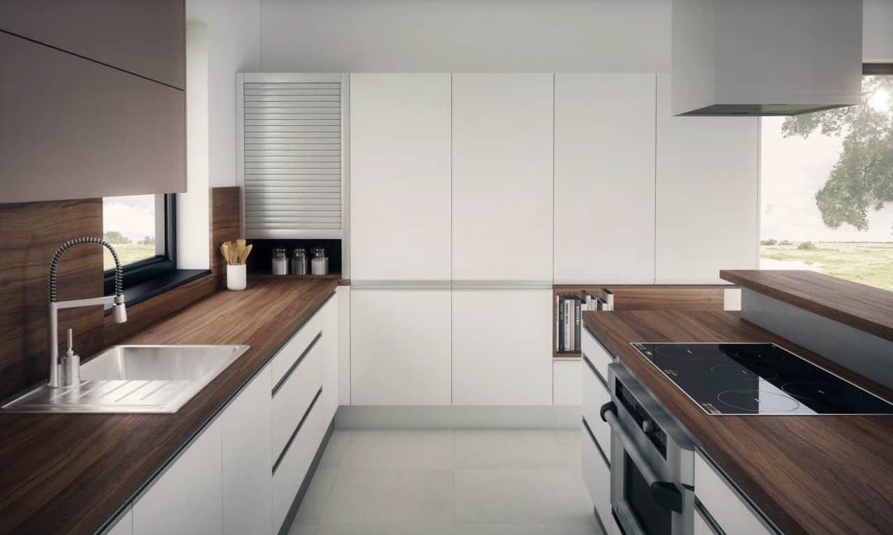 Aký štýl bielej kuchyne vyhovuje najviac vám? Zdroj: iKuchyne.sk