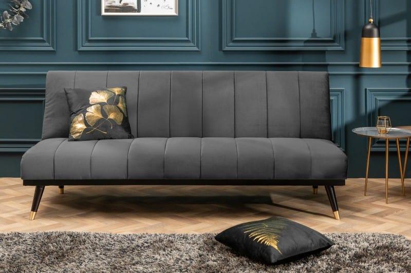 Táto pohovka zapadne do mnohých interiérov, keďže sivá farba je pomerne neutrálna. Zdroj: iKuchyne.sk
