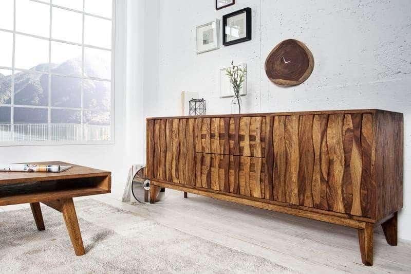 Palisandrové drevo je známe svojou jedinečnou kresbou. Zdroj: iKuchyne.sk