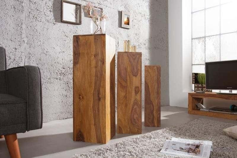 Sheeshamové drevo vám vytvorí doma priestor, ktorý bude mať štýl. Zdroj: iKuchyne