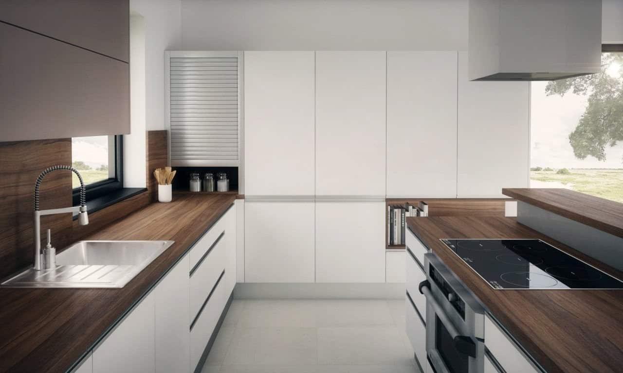 Úložný priestor v kuchyni je veľký pomocník pre poriadok. Zdroj: iKuchyne.sk