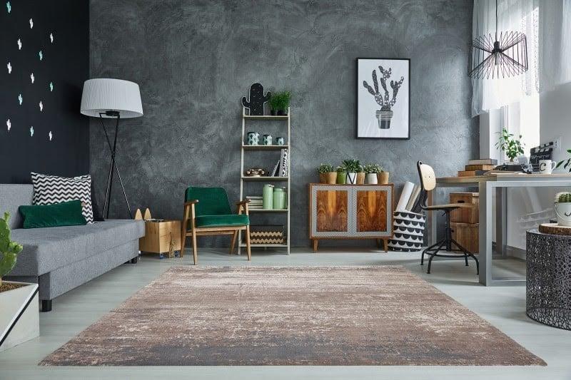 Koberec sa bude vo vašej novej, moderne zariadenej obývačke rozhodne vynímať. Zdroj: iKuchyne.sk