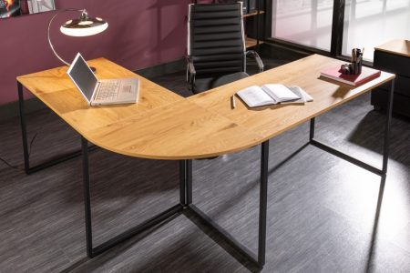 Eck-Písací stôl Big Deal 180cm dubnoptik