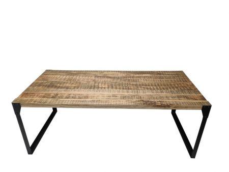 Jedálenský stôl Factory 200cm Mango prírodná