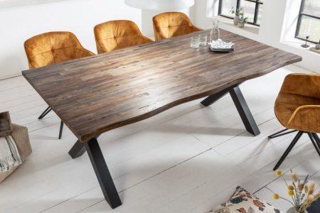 Jedálenský stôl Genesis Vintage 160cm agát hnedý