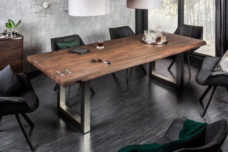 Jedálenský stôl Mammut Artwork 220cm agát 60mm