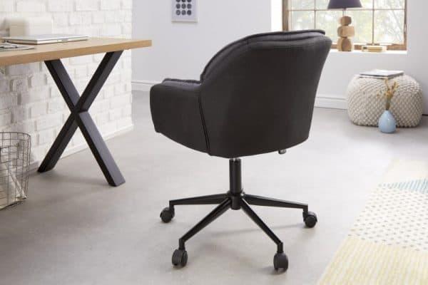 Kancelárska stolička Lounger sivá Anthrazit