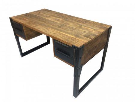 Písací stôl Factory 135cm Mango prírodná