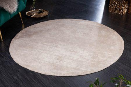 Teppich Modern Art 150cm rund béžová