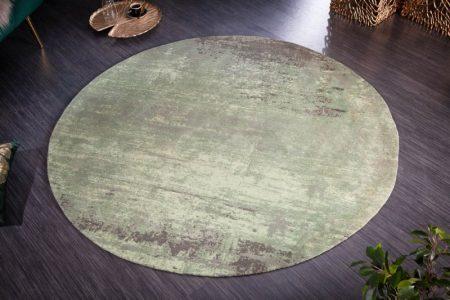 Teppich Modern Art 150cm rund zelená béžová