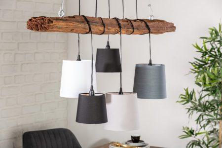 Závesná lampa Levels 5er Set tienidlo