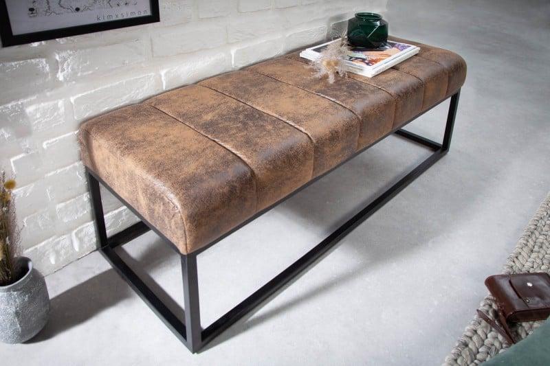 Podlhovasté lavice sú vhodné na malú terasu či balkón. Zdroj: iKuchyne.sk