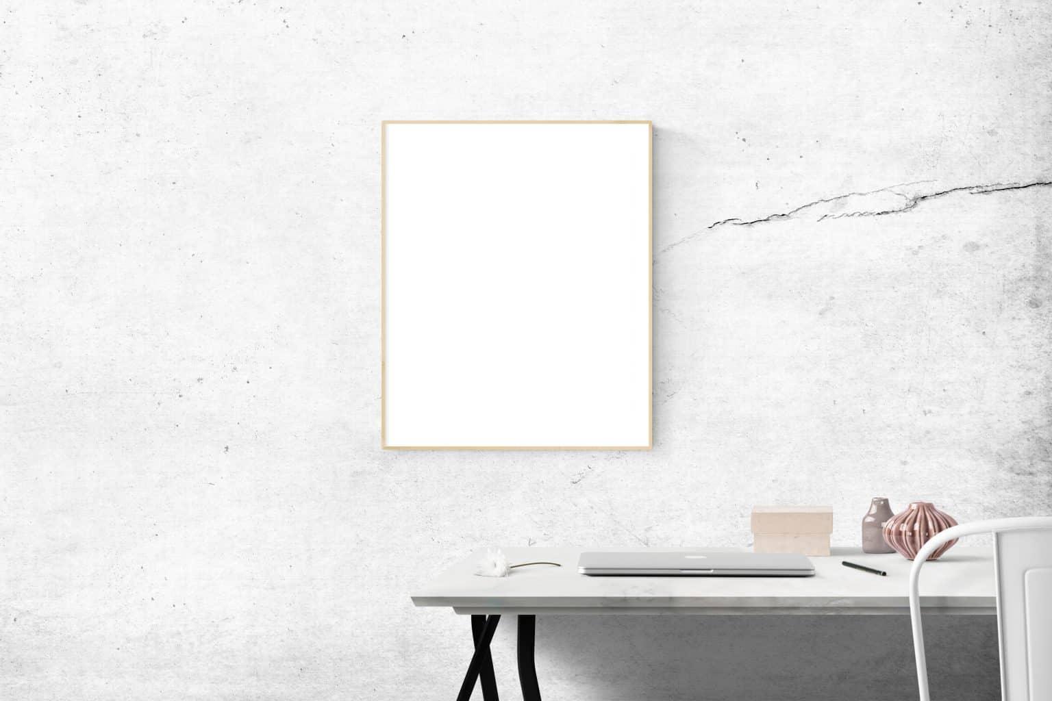 Štvorcové zrkadlo. Zdroj: Pexels.com