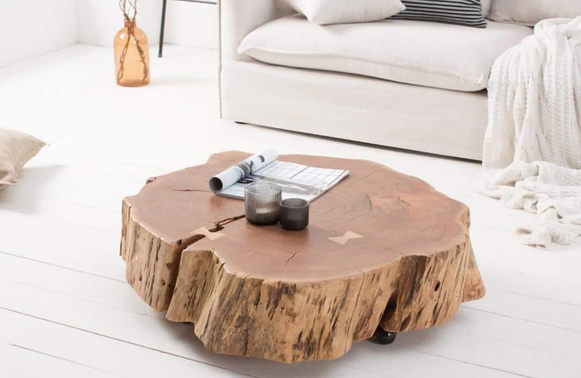 Nábytok na kolieskach, ktorý vám prinesie kúsok prírody priamo k vám do obývačky. Zdroj: iKuchyne.sk