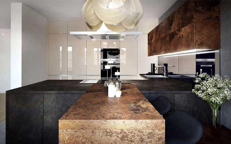 Luxusná kuchynská linka po strop je dobrá inšpirácia, že? Zdroj: iKuchyne.sk