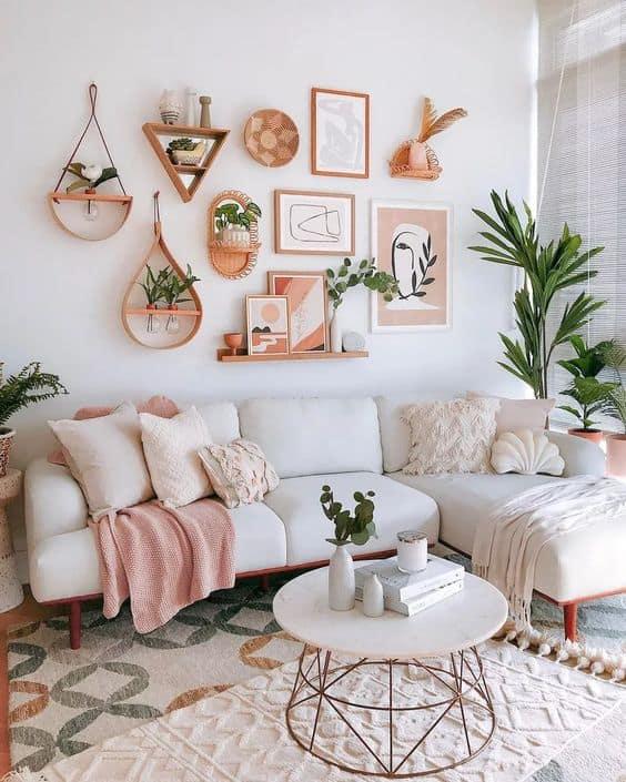 Myslite pri zariaďovaní vášho domova na správne bytové doplnky. Zdroj: Pinterest.com