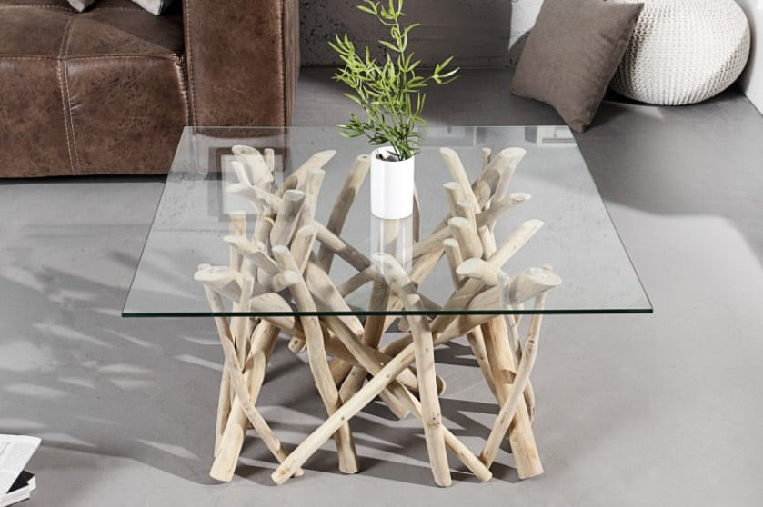 Konferenčný stolík Driftwood bude ozdobou vo vašej obývačke. Zdroj: iKuchyne.sk