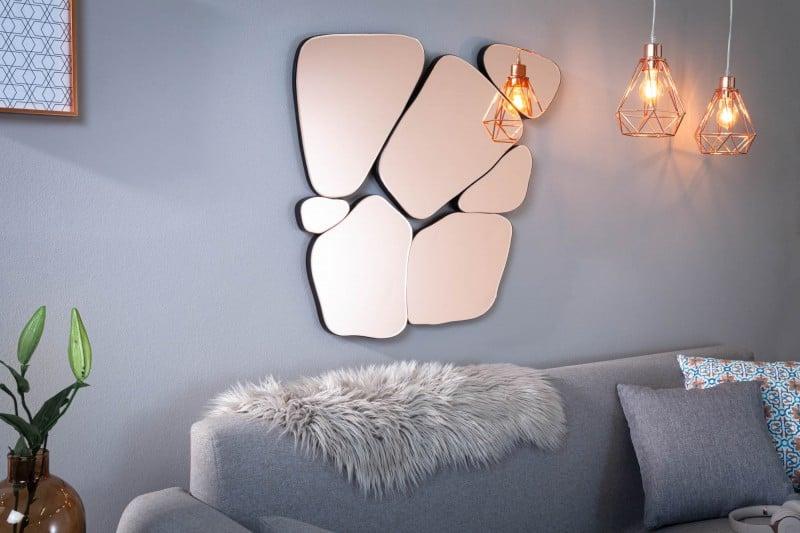 Dizajnové zrkadlo rozžiari každú miestnosť. Zdroj: iKuchyne.sk