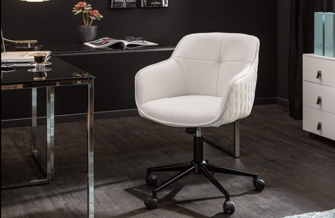Aj pri výbere nábytku na kolieskach buďte náročný. Doprajte si komfort s touto dizajnovo jednoduchou, no štýlovou kancelárskou stoličkou. Zdroj: iKuchyne.sk