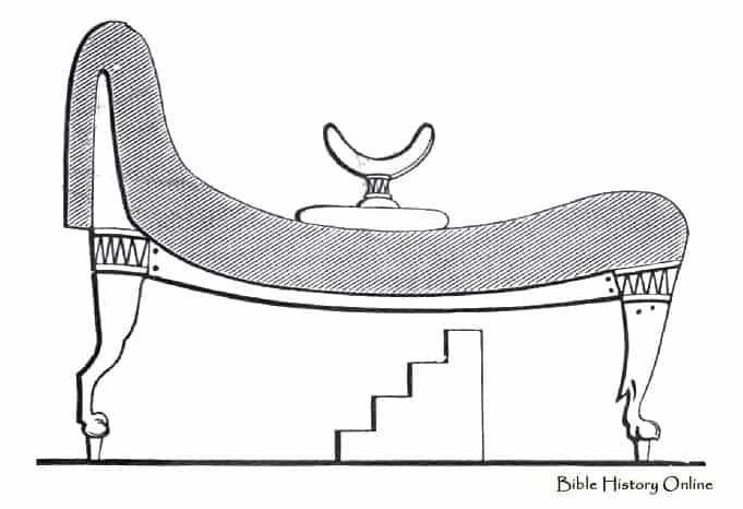 Takto nejak mohli vyzerať leňošky v starovekom Egypte. Foto: Foto: Bible-history.com