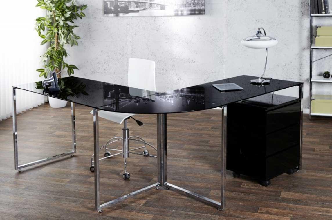 Vďaka luxusnému prevedeniu bude tento písací stôl ozdobou nejednej kancelárie. Zdroj: iKuchyne.sk