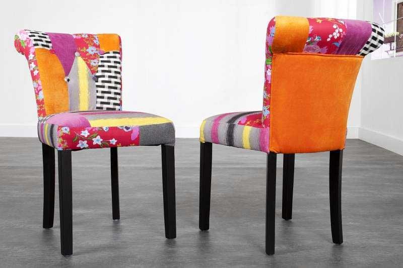 Nechystáte sa toto leto na Ibizu? V príjemnom patchwork dizajne si svoje dovolenkové slasti pripomeňte aspoň týmto sedením na doma :). Zdroj: iKuchyne.sk
